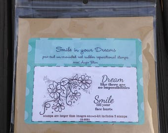 Brand NEW Unity Stamp Set, Smile in your Dreams