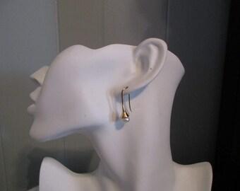 Fresh Water Pearl Bell Earrings, Bell Earrings, Bell Drop Earrings, Drop Earrings, Handmade