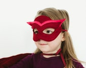 Owlette Mask Inspired by the PJ Masks, Halloween Costume Accessory for Girls, Children Pretend Play Toy Toddler