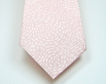 Blush Ties Blush Mens Blush Ties Neckties Wedding Neckties Pink Neckties Light Pink Neckties Mens Neckties Custom Neckties