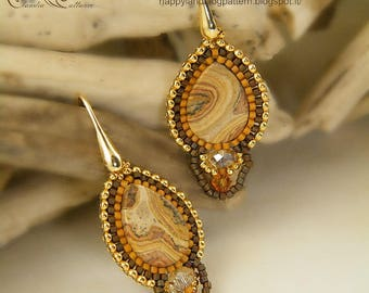 Jasper drops, earrings 50% DISCOUNT