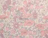 Liberty tana lawn printed in Japan - Poppy& Daisy - Baby pink mix