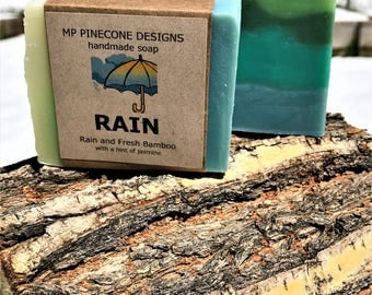 RAIN & SUMMER BREEZE handmade soap