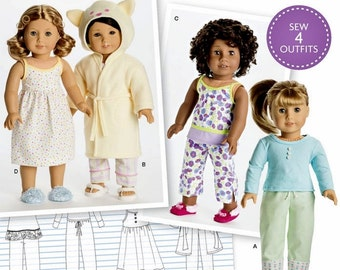 American Girl Doll Clothes Pattern, 18 inch Doll Clothes, AG Doll Clothes Pattern, Simplicity Sewing Pattern 8281
