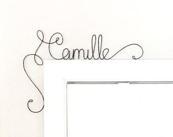 Childrens Personalized Name Sign,  Unique Over the Door Kids Room Name Sign, Personalised babies name Sign, Personalised Nursery Door Sign,