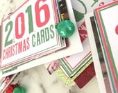 Christmas Card Covers - Organizing Holiday Cards - Card Organizer