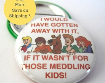Scooby Doo, Scooby Doo Patch, Party Pin, Pinback Button Badge, Pins For Backpacks, Button Gift, Party Favors, Fridge Magnets 1.5 in (38mm)