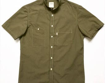 Olive ripstop s/s