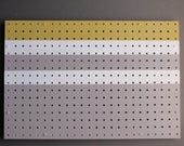 pegboard organizer - Sunny Side Up -modern decor – acrylic on pegboard - home décor - wall art -  functional artwork