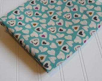 Voile Heart Fabric