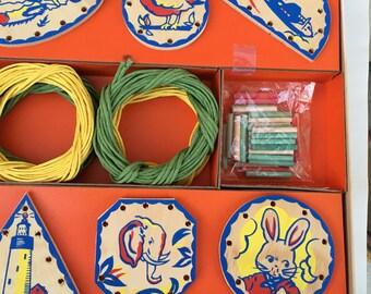 Vintage NOS 1950s Basket Making for Kids Basket Crafts