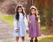 Baby Pinafore Pattern, Dress Sewing Pattern, Baby Pattern, Dress & Top Pattern, Sweetheart Dress, Baby Sewing Pattern, Astoria Set
