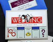 CUSTOM LISTING - Pocket Monopoly - Stickers Only for R. Breton