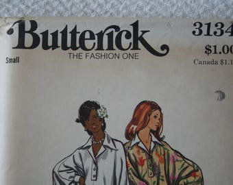 Butterick 3134 Caftan Pattern Size Small Uncut So Cool