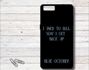 Blue October, Blue October Lyrics, Fear Lyrics, Cell Case, iPhone Case, Blue October Fans, Blue October Cell Phone Case