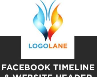 Facebook Timeline & Website Header, ADDITIONAL LOGO, Logo Design, Logo, Premade, Business Logo, Logo Design Service, Photography Logo, .