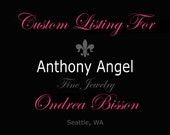 Custom Listing For Ondrea Bisson