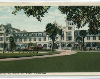 Hotel Del Monte California 1920s postcard