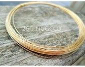NuGold Brass Wire 26g Round Dead Soft 5-100ft