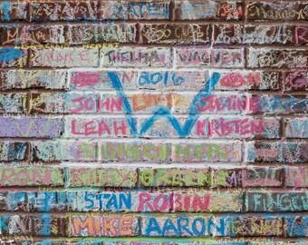 Chalk Walls at Wrigley