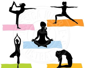 unique yoga poses related items  etsy