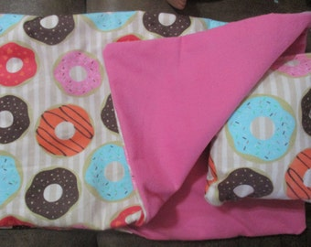 18 inch doll bedding, donut sleeping bag for 18 inch dolls