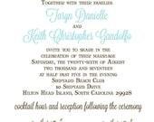 Taryn & Keith - Wedding Invitation  Suite - 55