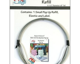 "Stacking Pop Up Small Refill - 5.5"" Diameter, 6"" Tall Pop Up Basket Container"