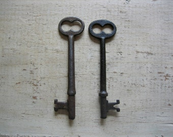 2 Rusty Skeleton Keys