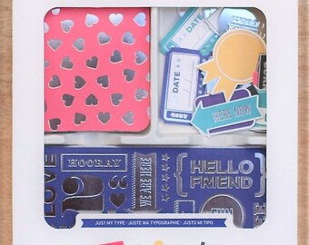 Project Life JUST MY TYPE Value Kit 90pc Pocket Page Scrapbook Journaling Cards by Becky Higgins