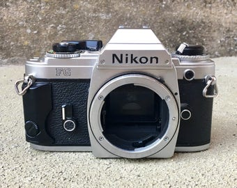 Vintage Nikon FG 35mm Camera Body