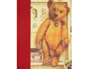 Baby Keepsake Memory Book Teddy Bear