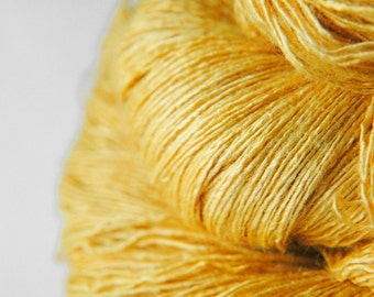 Sunny summer day - Tussah Silk Lace Yarn