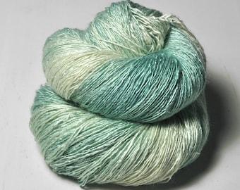 Frost saints OOAK - Tussah Silk Lace Yarn