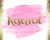 Custom Listing for--jenna--Reserved