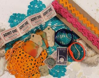 ART JOURNAL Mega Pack : Paper Scrap Pack - Paper Pack - Paper Kit - Scrapbook Paper - Paper Sheets - Paper Craft - Junk Journal
