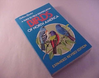 1983 Golden Books A Field Guide Identification Birds Of North America
