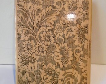 Large NEW Stampin Up stamp Fine Lace 1997