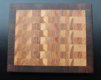 Cutting Board - Hickory and Walnut