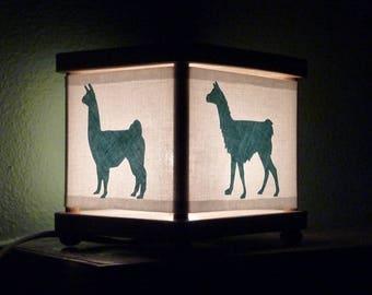 Llama Night Light Decor Llamas Lighting