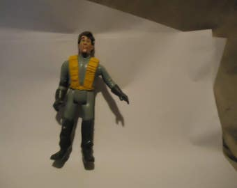 Vintage 1987 Real Ghostbusters Peter Venkman Bug Eyes Figure by Columbia Pictures, collectable