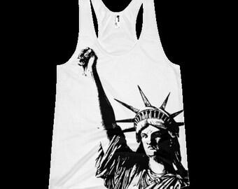Nasty Woman - Statue of Liberty Solidarity Women's Tank