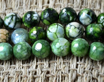 12mm Faceted Dyed agate stone nugget stone Beads, stone beads,agate stone beads loose strands