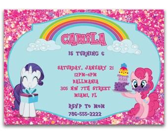 My Little Pony Digital Invitation