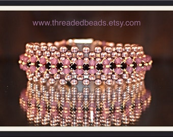 Pearl and Crystal Paradise Bracelet
