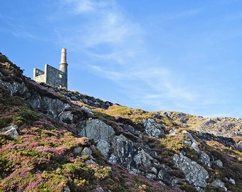 St Patricks Day, March, Mining, Copper, Ireland, Allihies, Irish, Man Engine, Main Engine, Mountain, Heather, Gorse, Margaret Dukeman