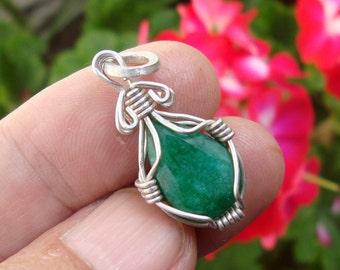 emerald pendant emerald jewelry