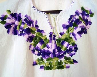 mexican blouse flower blouse