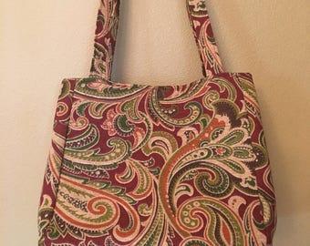 Beth #1727, Knitting Bag, Knit and Crochet, Project Tote, Project Bag, Self Standing Tote, Knitting Project Bag, Needle Point Bag, Yarn Bag