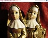 Vintage 60s  Kitsch Singing Nuns
